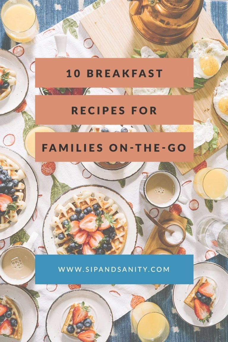 pin image for breakfast ideas for families