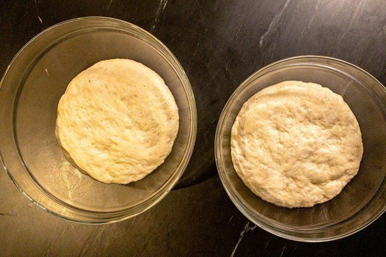 dough after rising