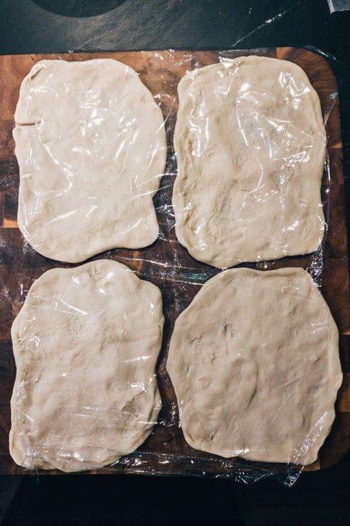 week 6 pizza dough resting