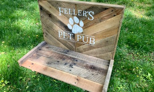 DIY pet pub project