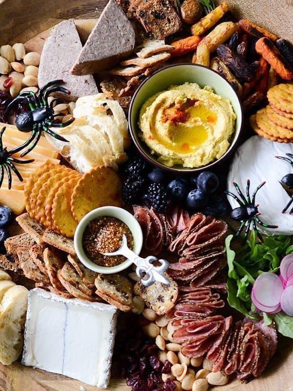 Tastebud Tingling Halloween Grazing Board