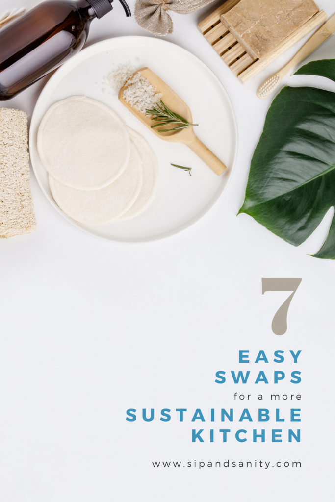 eco-friendly products on a table