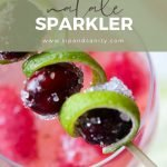 pin image for cranberry-lime natale sparkler