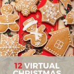 pin image for 12 virtual Christmas party ideas