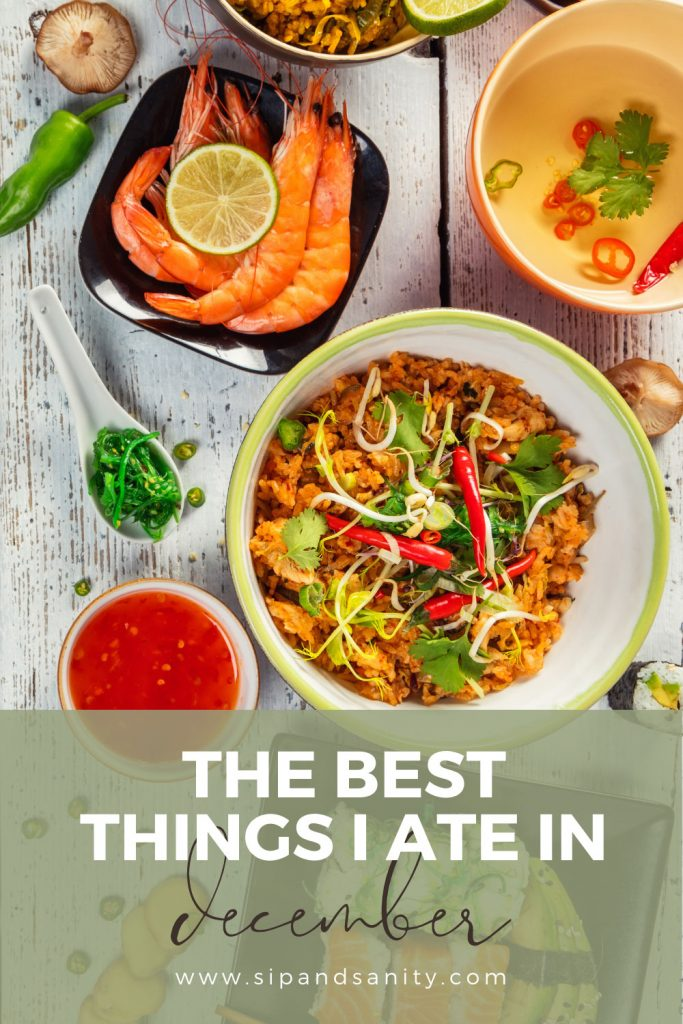 pin image for the best things I ate in december
