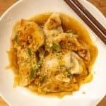 sesame chicken dumplings