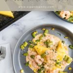 pin for shrimp and polenta cakes