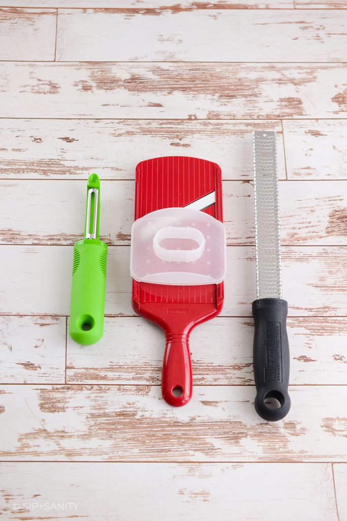 tools for cutting, slicing, grating