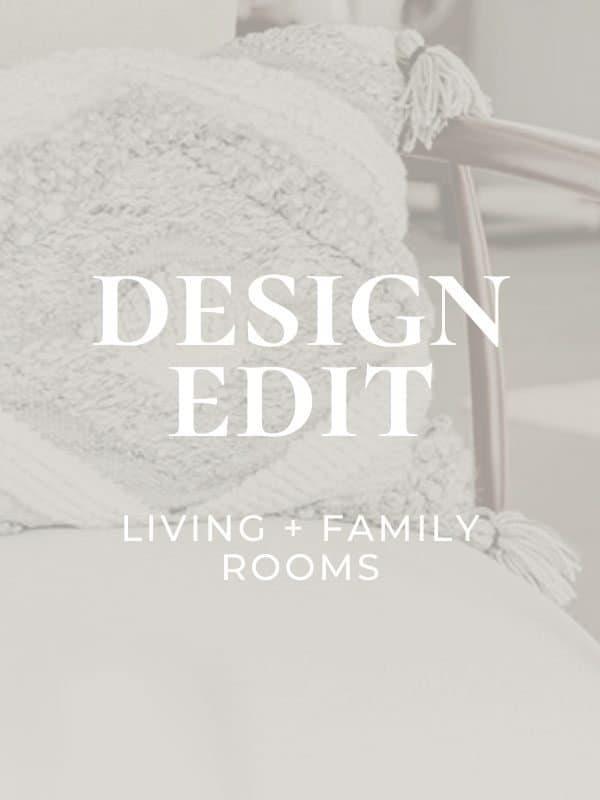 Design Edit: DIY Living Room Decor