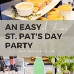 pin image for st. patrick's day party