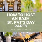 pin image for hosting a st. pat's party