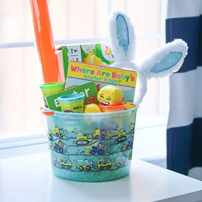 Easter Basket Ideas for Babies and Toddler from Crayons & Cravings