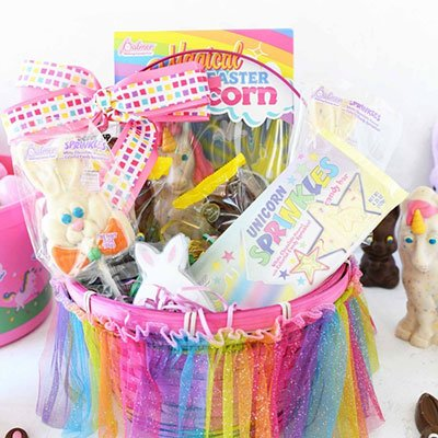 Unicorn Easter Basket from Savvy Saving Couple