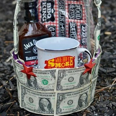 Money Gift Basket from Get Your Holiday On