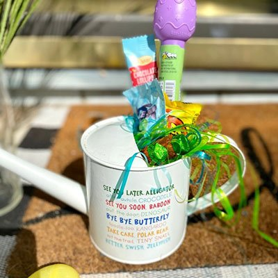 Watering Can Easter Basket from A Hundred Affections