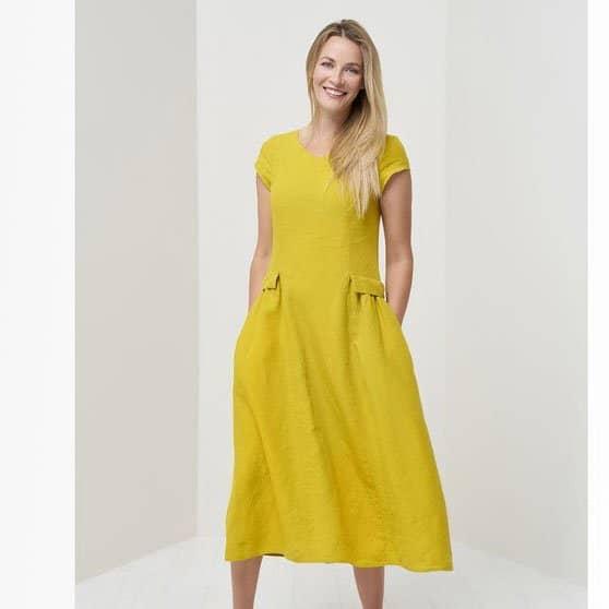 Linen Summer Dress from Baltic Linen
