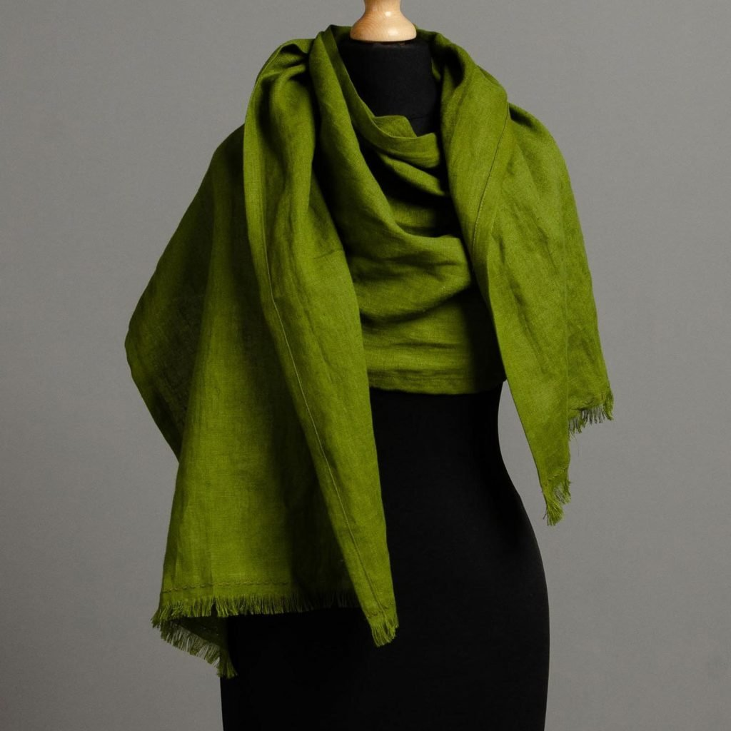 Linen Scarf from Linen Stitch Store
