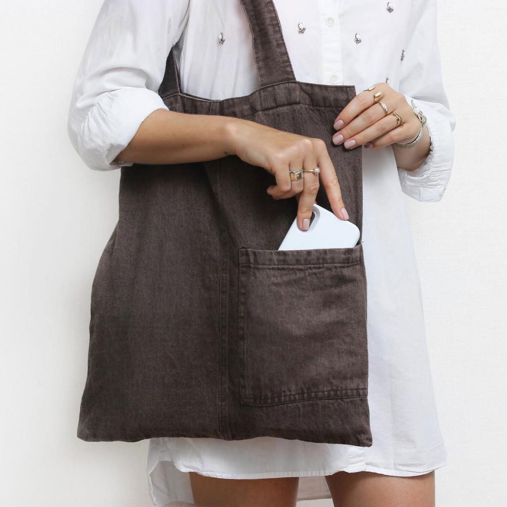Linen Tote Bag from Linenque