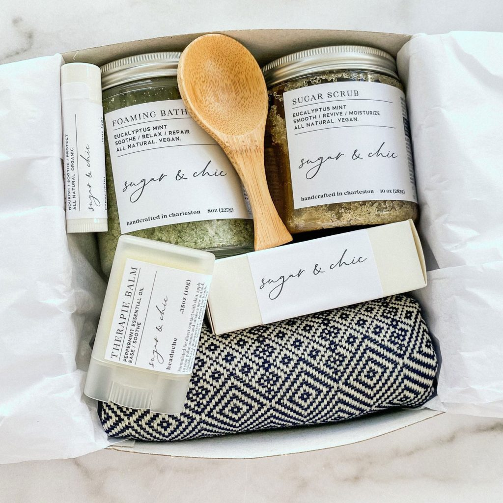 Spa Gift Set from Sugar & Chic Apothecarie