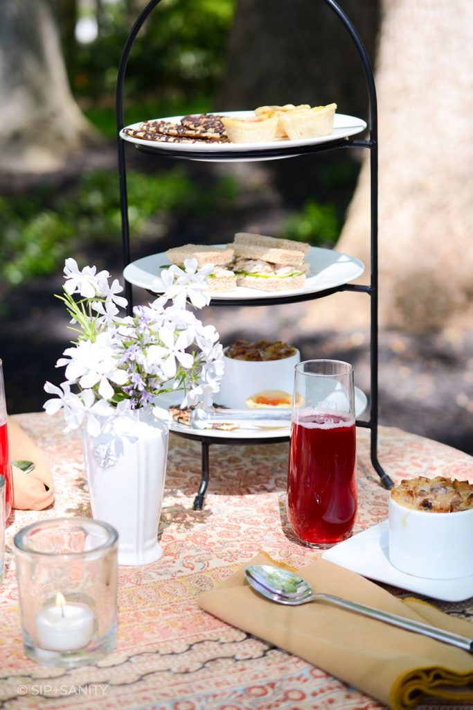 a garden tea party for mother's day