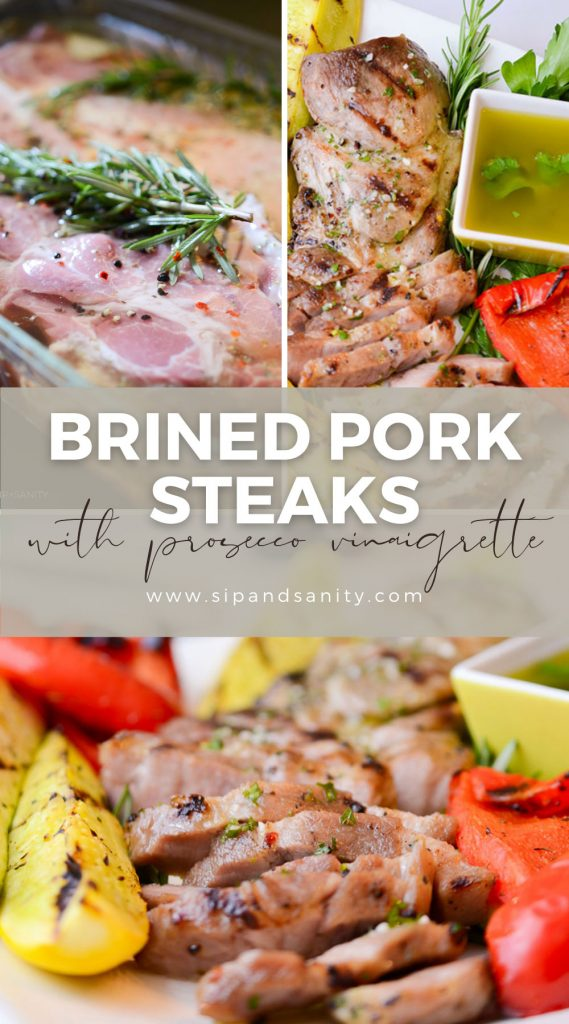 pin image for brined pork steaks