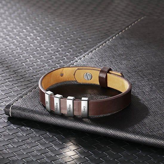 Personalized bracelet by Eliya Jewelry
