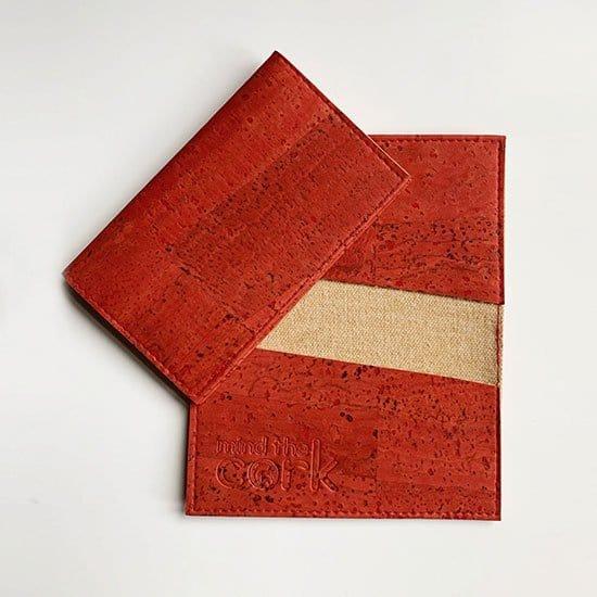 Cork card holder by mind the cork