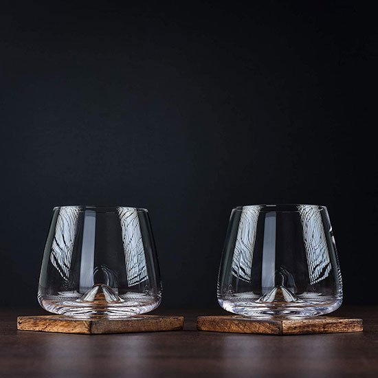 Whisky Glasses by Greenline Goods