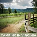 pin image for camping in virginia wine country