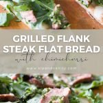 pin image for grilled flank steak flat bread