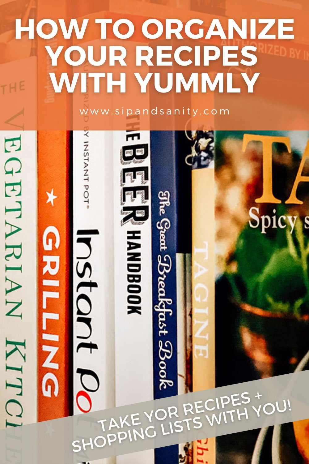pin image for organizing your recipes with yummly