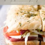 pin image for cold italian sub sandwich party sliders