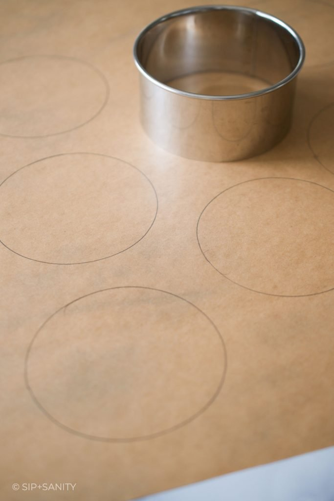 circles drawn on parchment