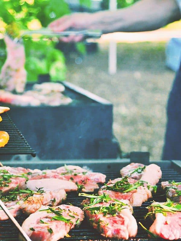 Photo of people grilling by Jo Jo on Unsplash