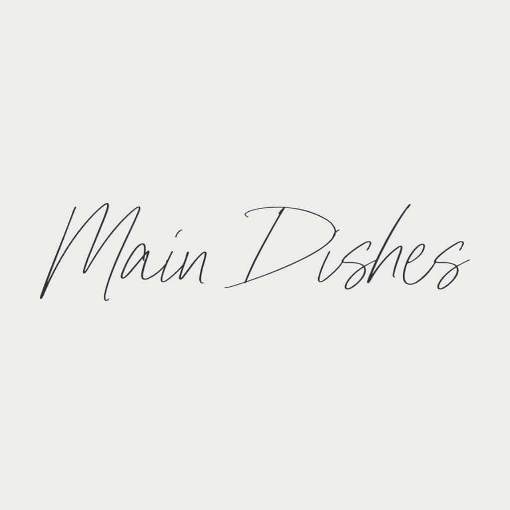 main dishes logo