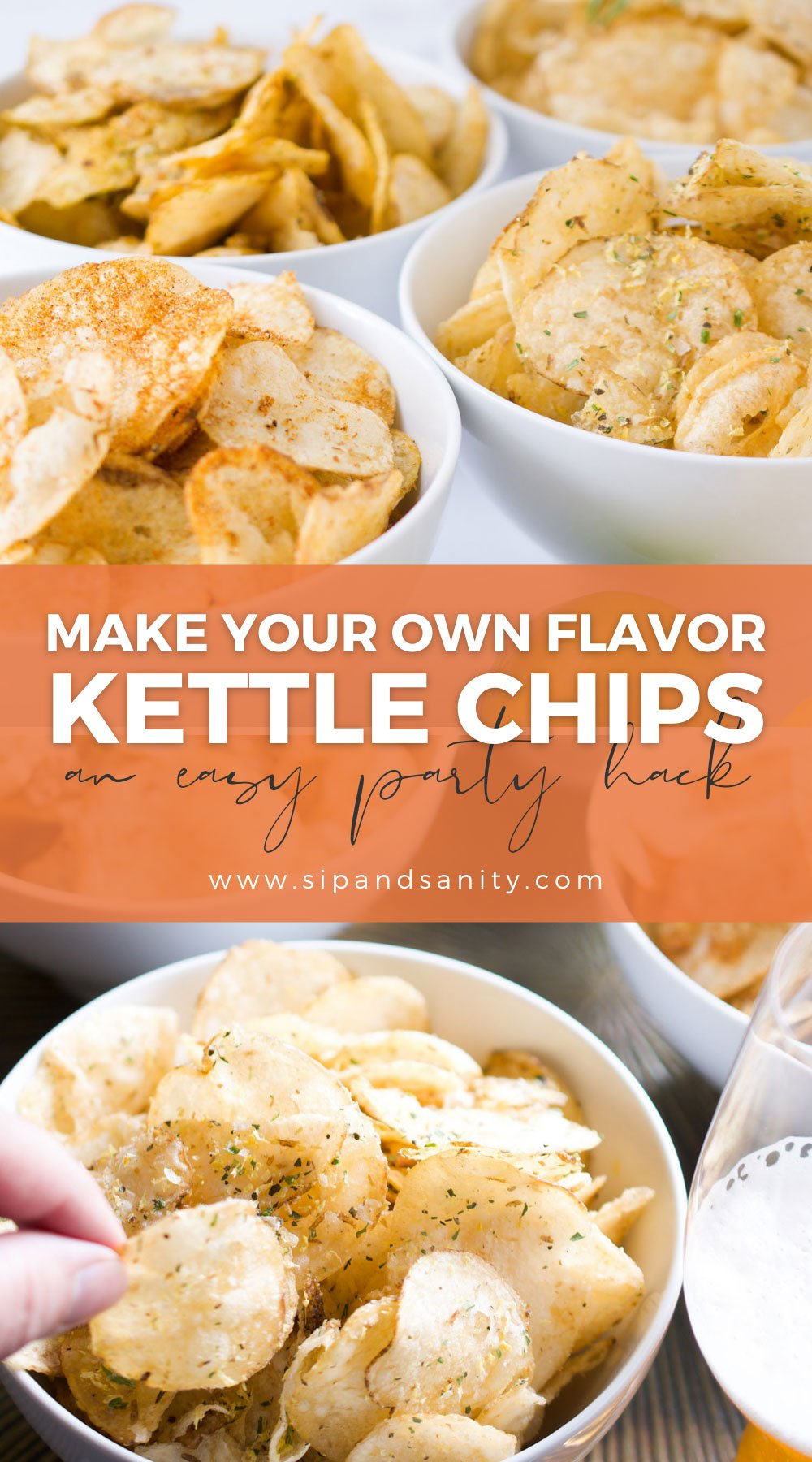 pin image for DIY kettle potato chips