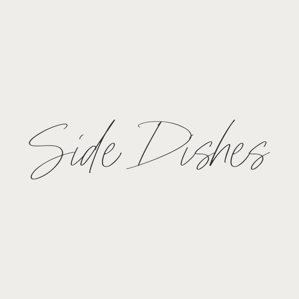 side dishes logo