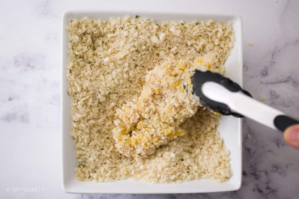 panko bread crumbs for coating chicken
