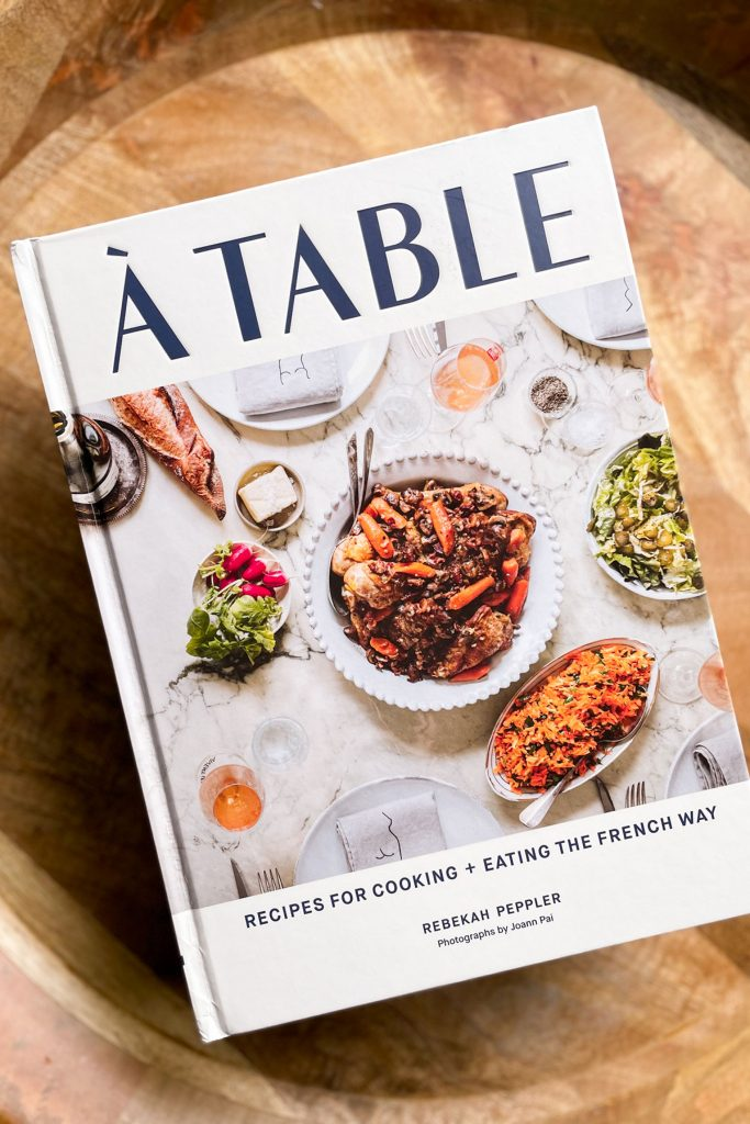 A Table cookbook by Rebekah Peppler