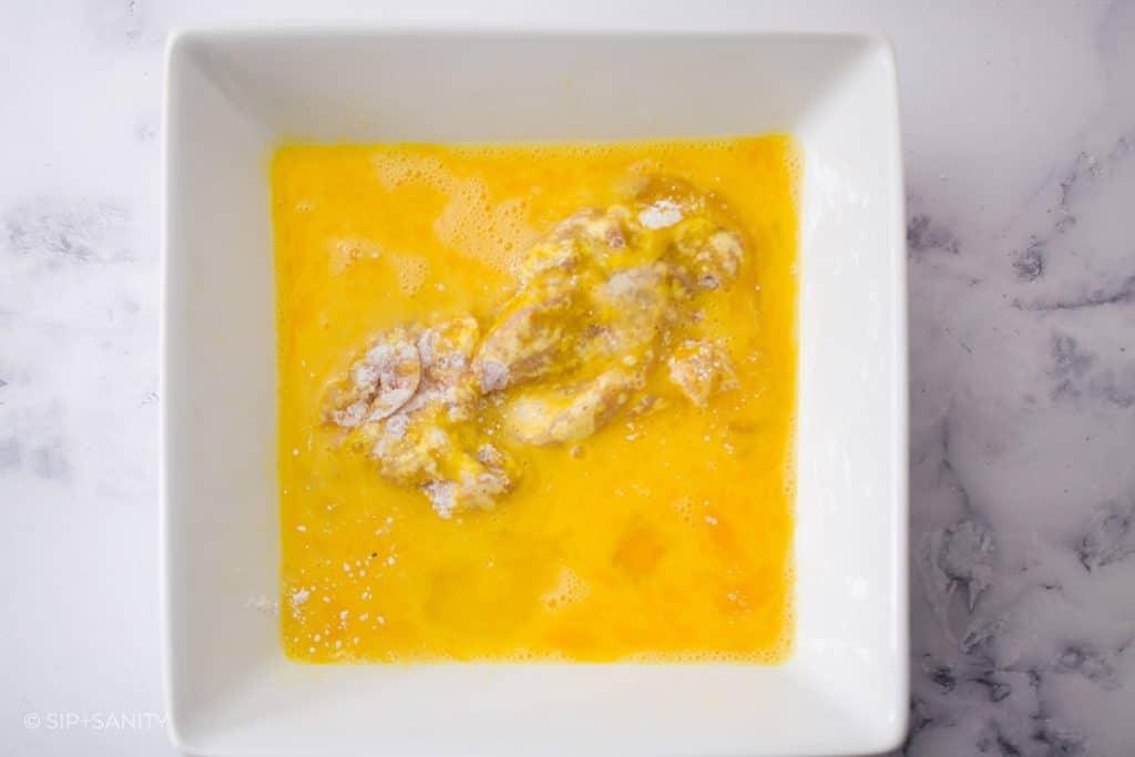 egg wash for breading chicken