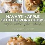 pin image for havarti and apple stuffed pork chops